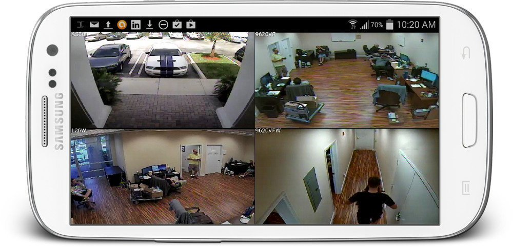 Android Mobile Surveillance Camera App