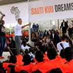 Obama au Kenya inauguration