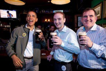 Obama au bar