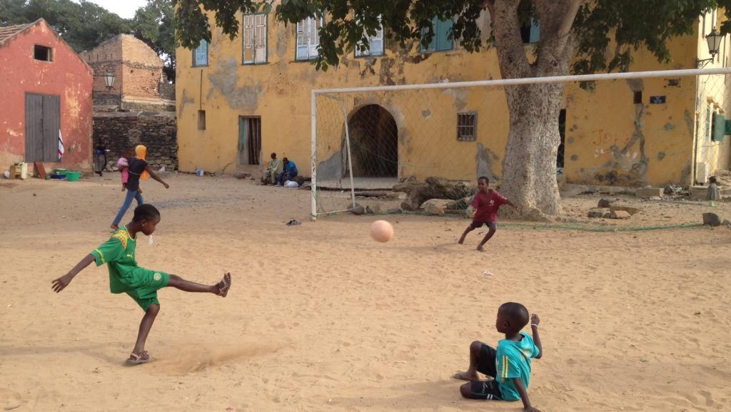enfants foot senegala