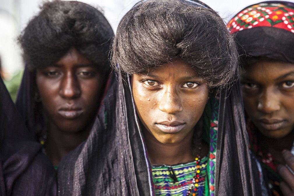 femme tribu wodaabe