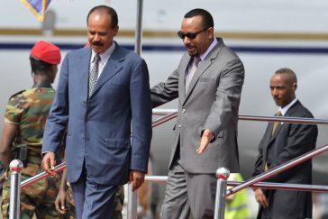 présidents érythrée ethiiopie