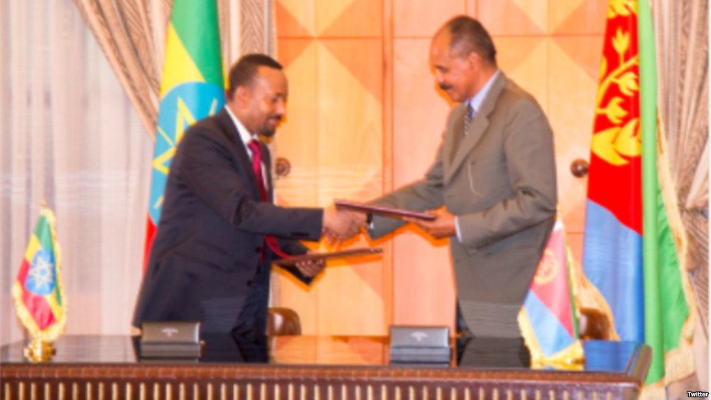 présidents érythrée ethiopie
