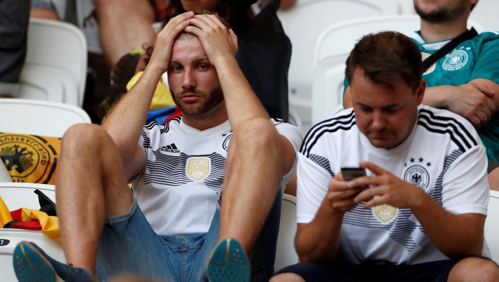 supporter allemand défaite