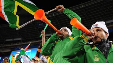 vuvuzela foot 2010