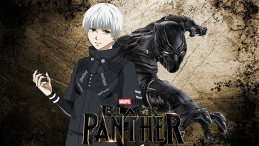 black panther anime