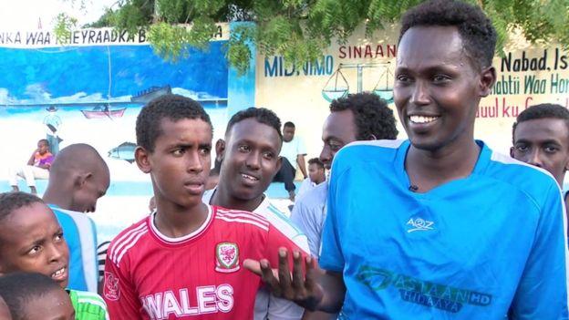 capitaine footballeurs sourds somalie