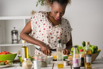 cuisinière africaine