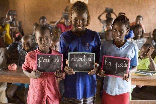 enfant pour la paix