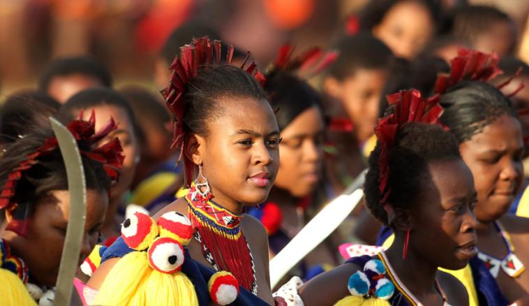 jeune fille swaziland