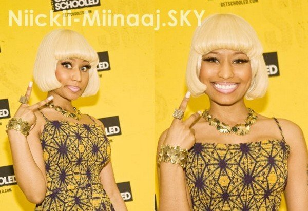 nicki minaj tenue africaine