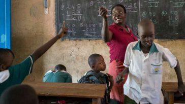 salle de classe africaine