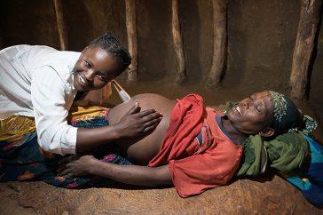 femme enceinte afrique