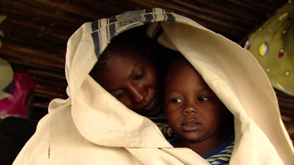 mère et fils afrique