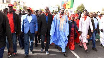 marche opposition sénégal