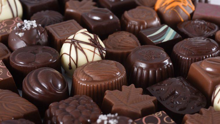 morceau de chocolat