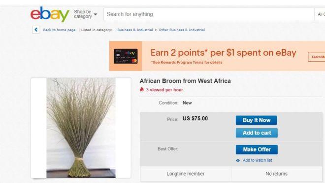 balai africain ebay