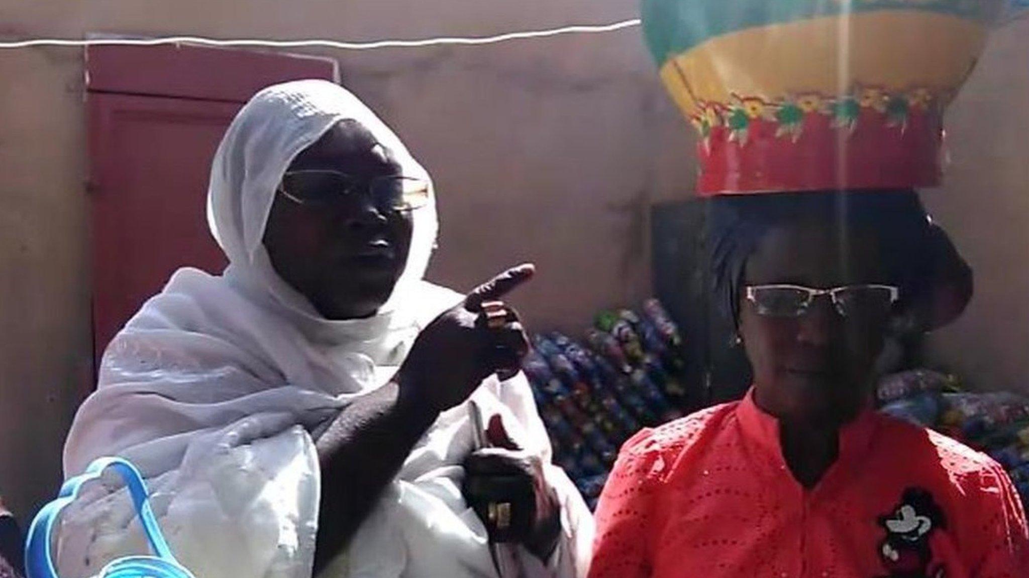 femmes dakar écobriques