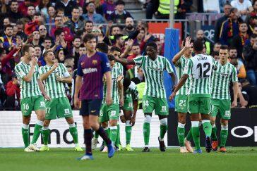 La converstaion que la défaite du Barca face au Betis a suscité entre ses suporters et ceux du Real Madrid
