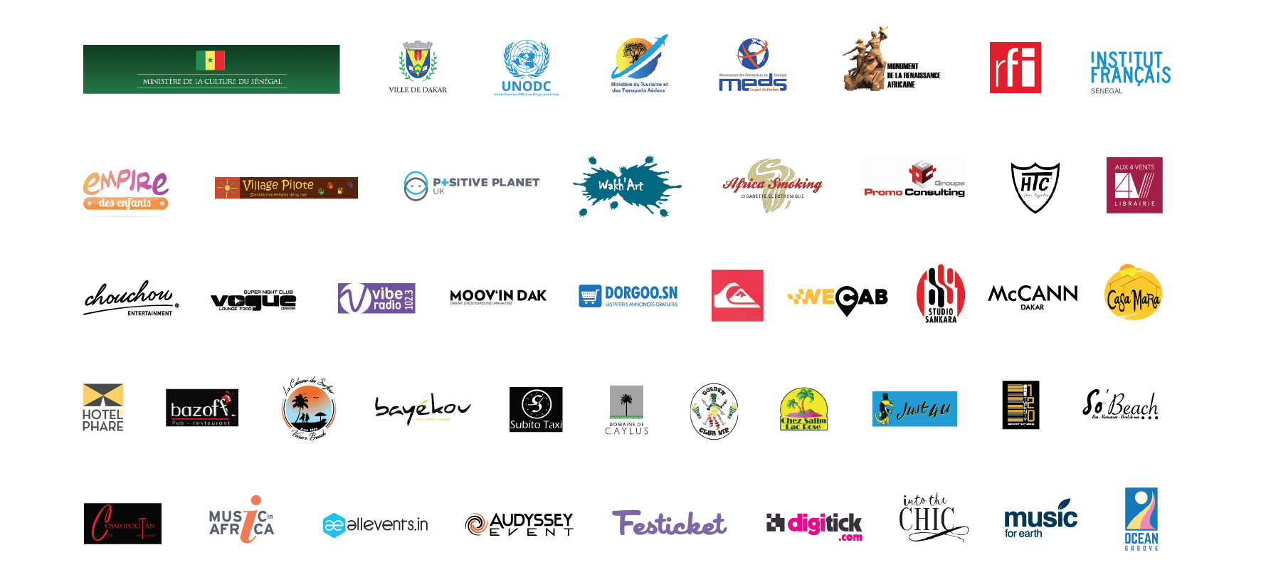 sponsors dakar music festival 2018