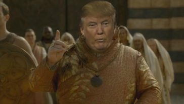 trump nouvel épisode game of thrones