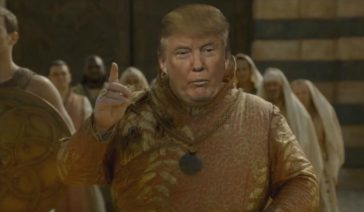 trump nouvel épisode game of thrones