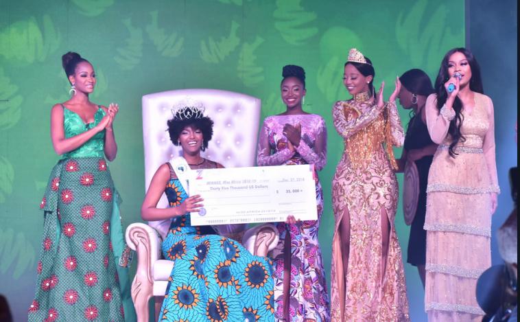 Dorcas Kasinde miss afrique2018