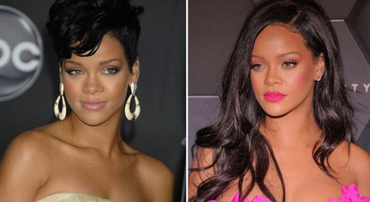 Rihanna 10 years challenge