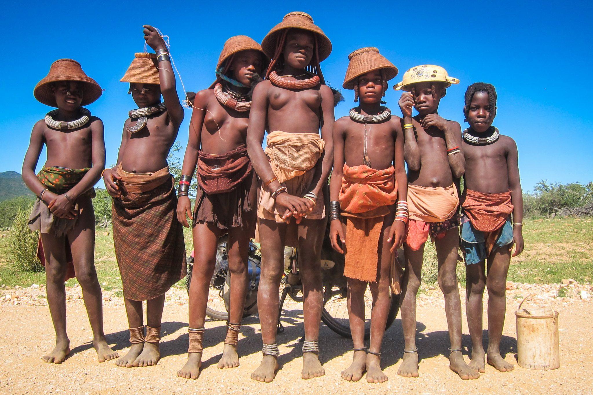 Ovahimba-tribu