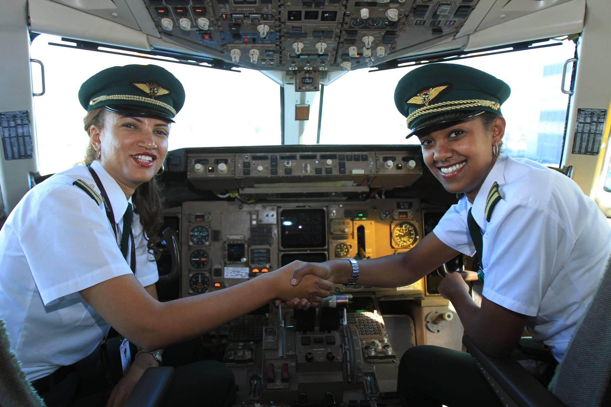 ethipian airlines pilotes femmes
