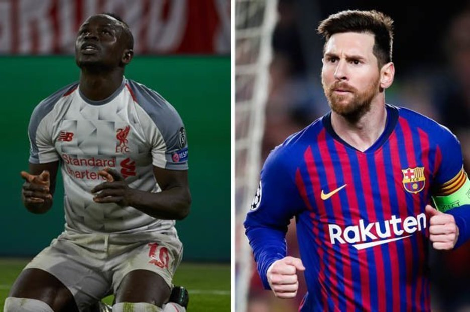 Sadio-mané-et-Lionel-Messi