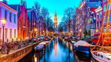 Amsterdam parmi les plus belles villes du monde