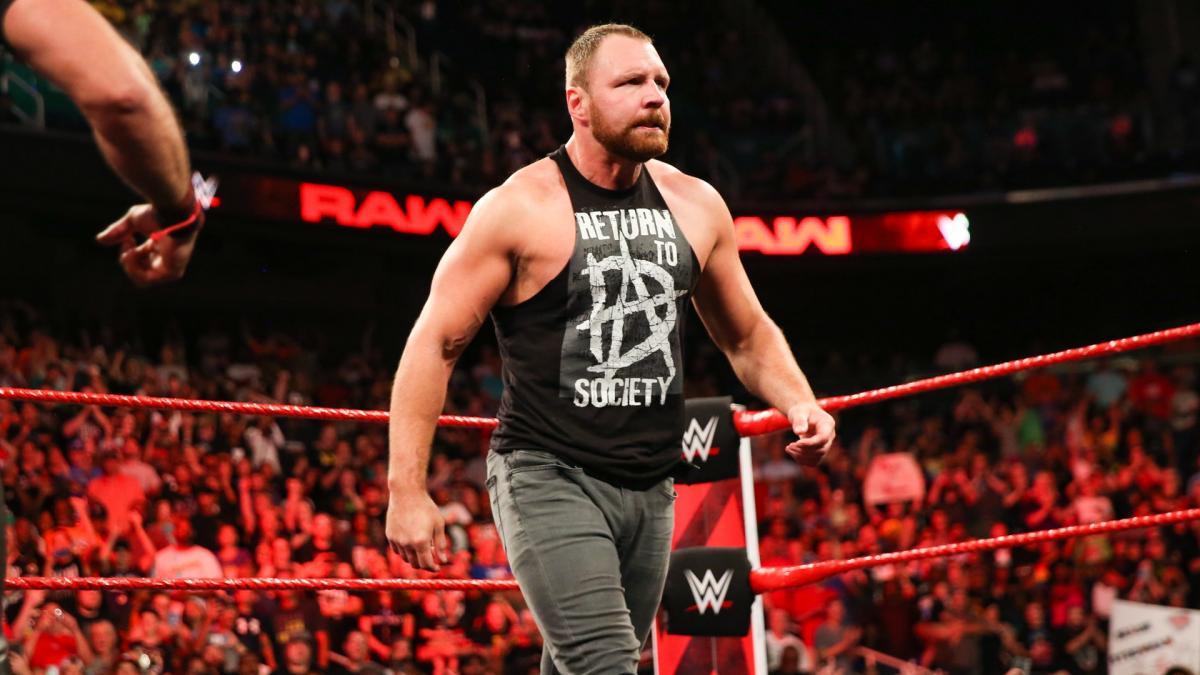 Dean ambrose catcheurs WWE les mieux payés en 2019