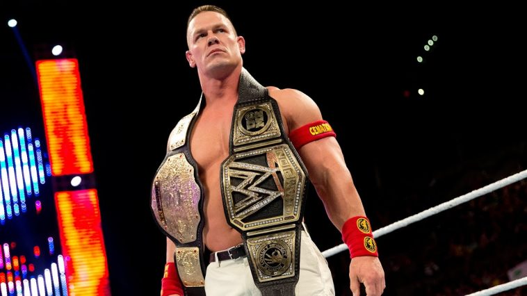 John Cena grand catcheur wwe 2019