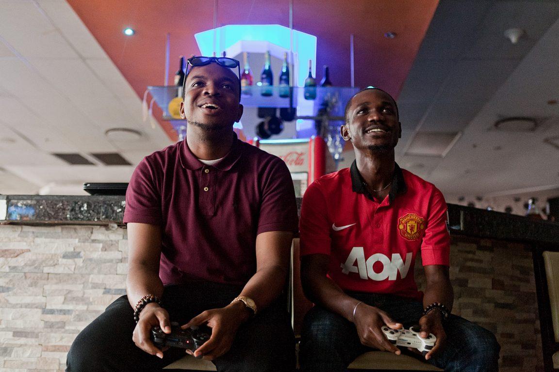 gamer africain ps5