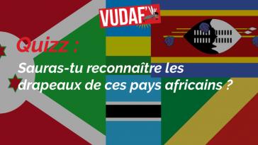 Quizz drapeaux africains