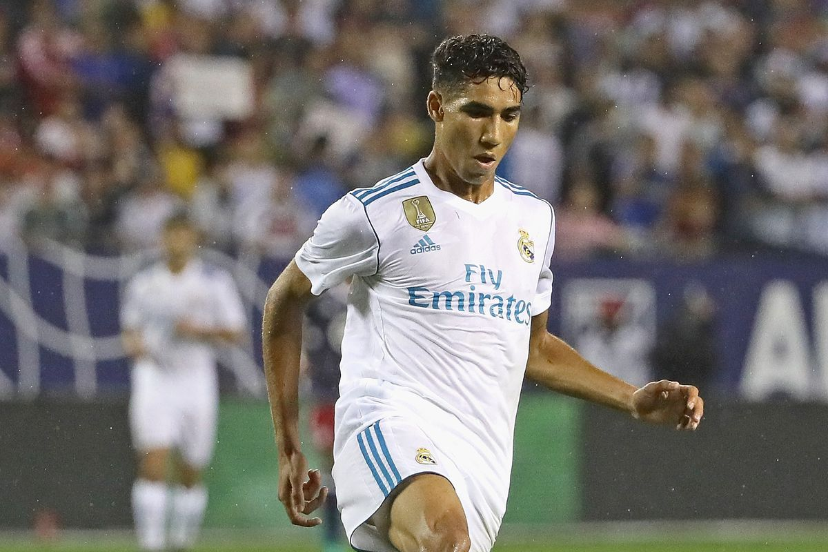 Achraf Hakimi, Real Madrid