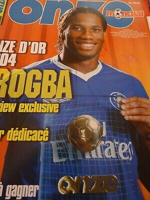 MAGAZINE-ONZE-MONDIAL-DROGBA-ONZE-DOR-2004-football