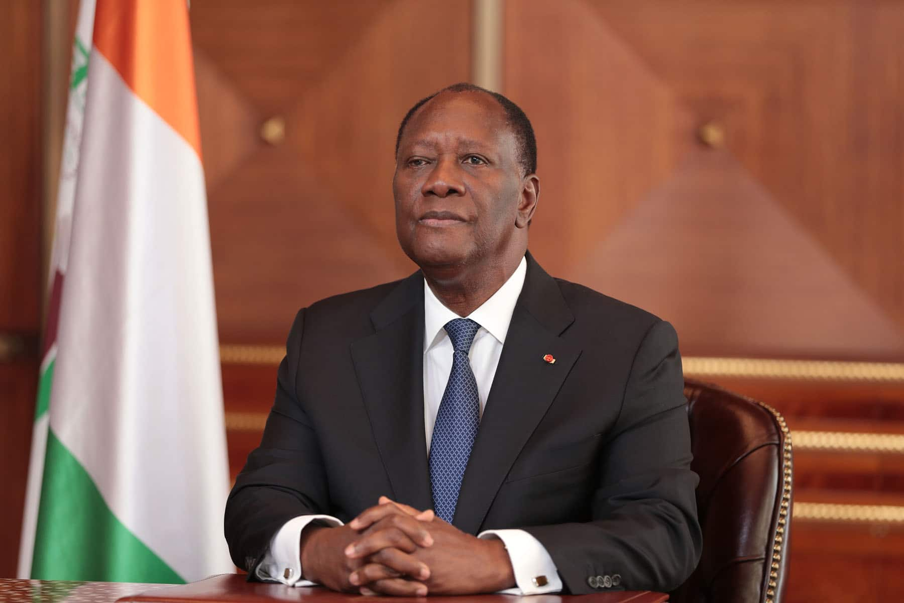 Alassane Ouattara chef d'état ivoirien