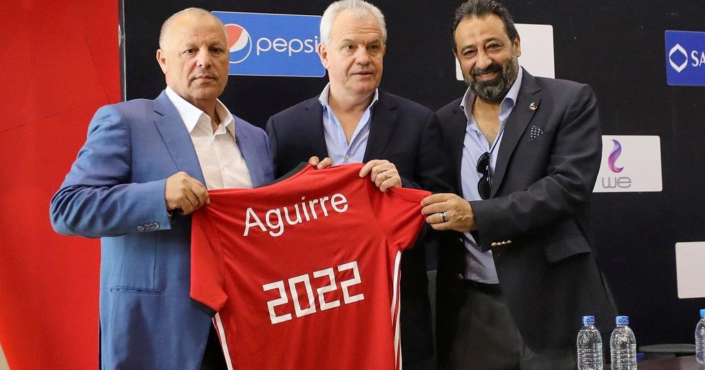 Javier Aguire (Egypte