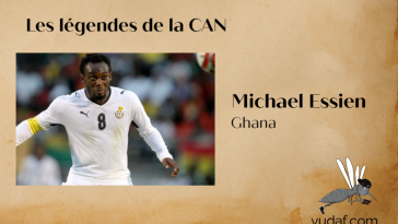 Legendes can Michael Essien