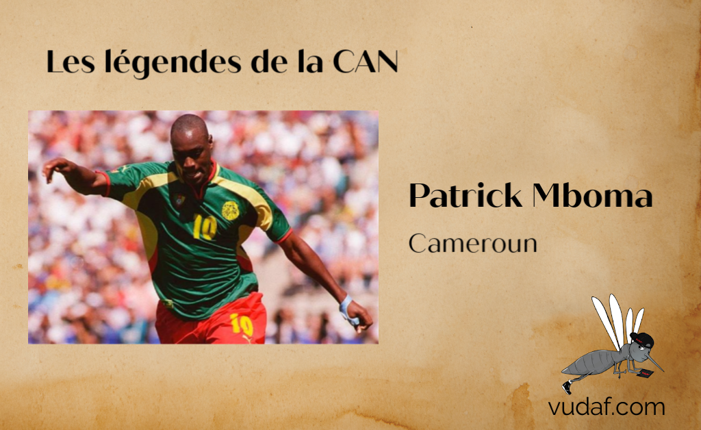 Legendes can Patrick Mboma