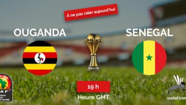 Match du jour Sénégal- Ouganda