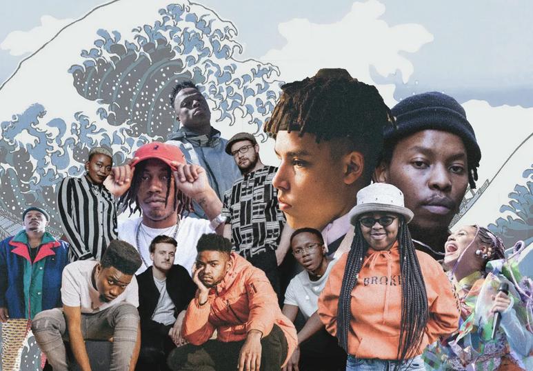 artistes afriqe du sud