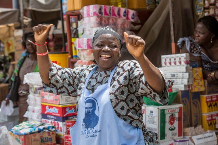 faire courses mère africaine