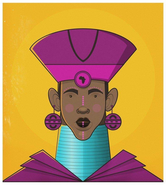 femme afrcaine