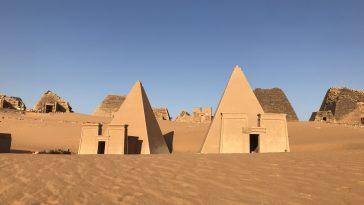soudan pyramides