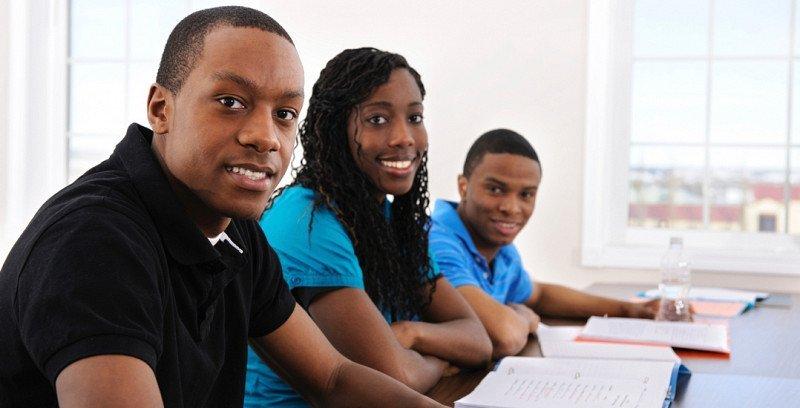 Etudiants africains