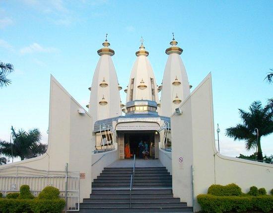 Le temple de Hare Krishna de la compréhension