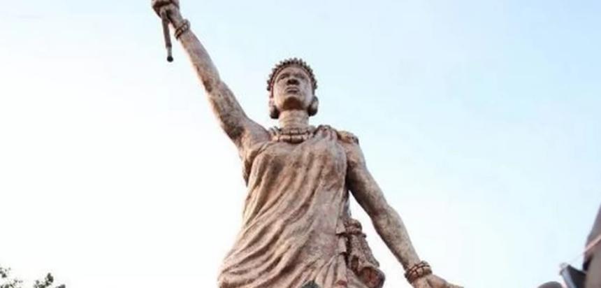 Statue de la liberté de la Reine Moremie